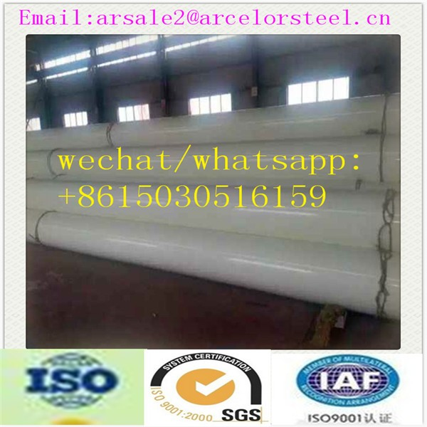 Alibaba 3-layer PE Natural Gas Coated Carbon Steel Pipe/Plastic Coated Pipe Manufacturers
