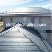 Classic stone coated colored ceramic roof tile flat roofing shingles price