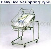 baby bed gas spring type