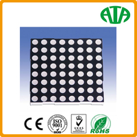 2015 best sale!!! all colors 8X8 LED dot matrix display module panel red /green/yellow/orange/white with small size 3mm-5mm