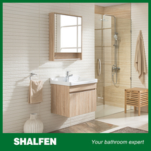 Modern wholesale Plywood solid wood bathroom space saver cabinet