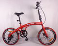 "20"" cheap folding wholesale small bicycles in stock for kids sales from China supplier"