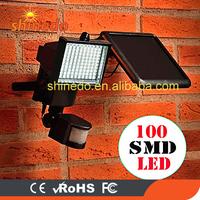 60 /100 pcs led high power motion sensor led solar light