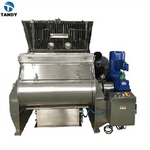 Industrial food dry powder mixer and blender / chemical mixing machine