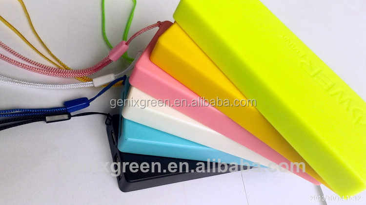 new products 2014 key ring 3000mah portable power bank hot selling in amazon.com