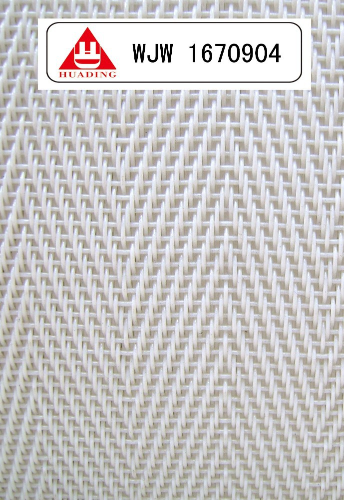 polyester fabric for nonwoven cloth forming