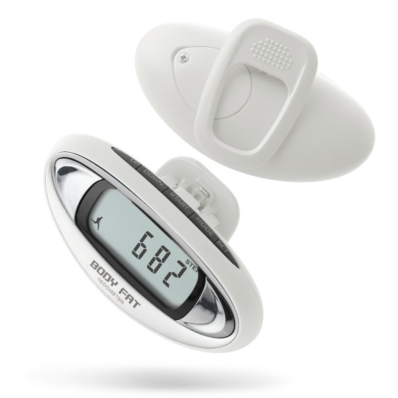 China Shenzhen manufacturer multifunctional body fat analyzer pedometer pedometer with step count and calorie
