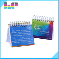 High Quality 2017 Promotional Table Calendars /Desk Calendars Printing