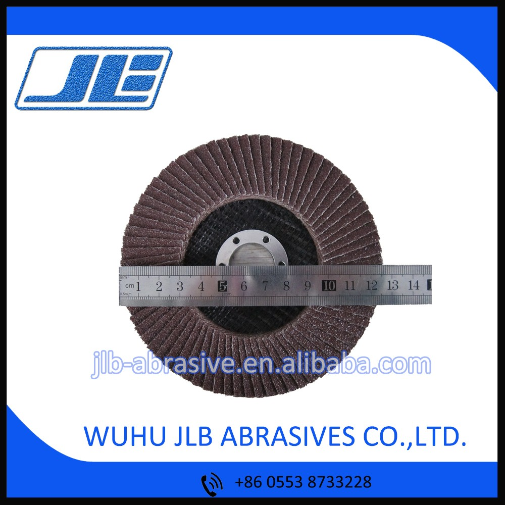 Automatic abrasive tools nail polish flap wheel disc with fiber glass