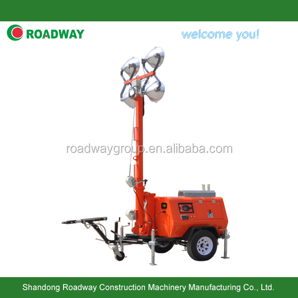 flood trailer light tower