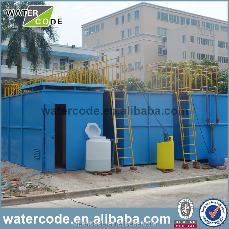 Domestic package integrated wastewater/sewage treatment equipment/plant