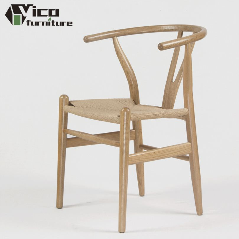 famous desgin manufacturer best price chair wood and rope seat