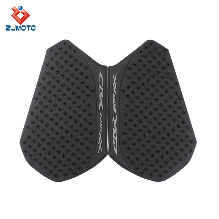 Rubber Tank Traction Pad Side Gas Knee Grip Protector For Honda CBR600RR 2013-2016