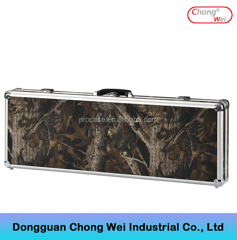 Aluminium / Leather / ABS Gun Rifle Carry Case
