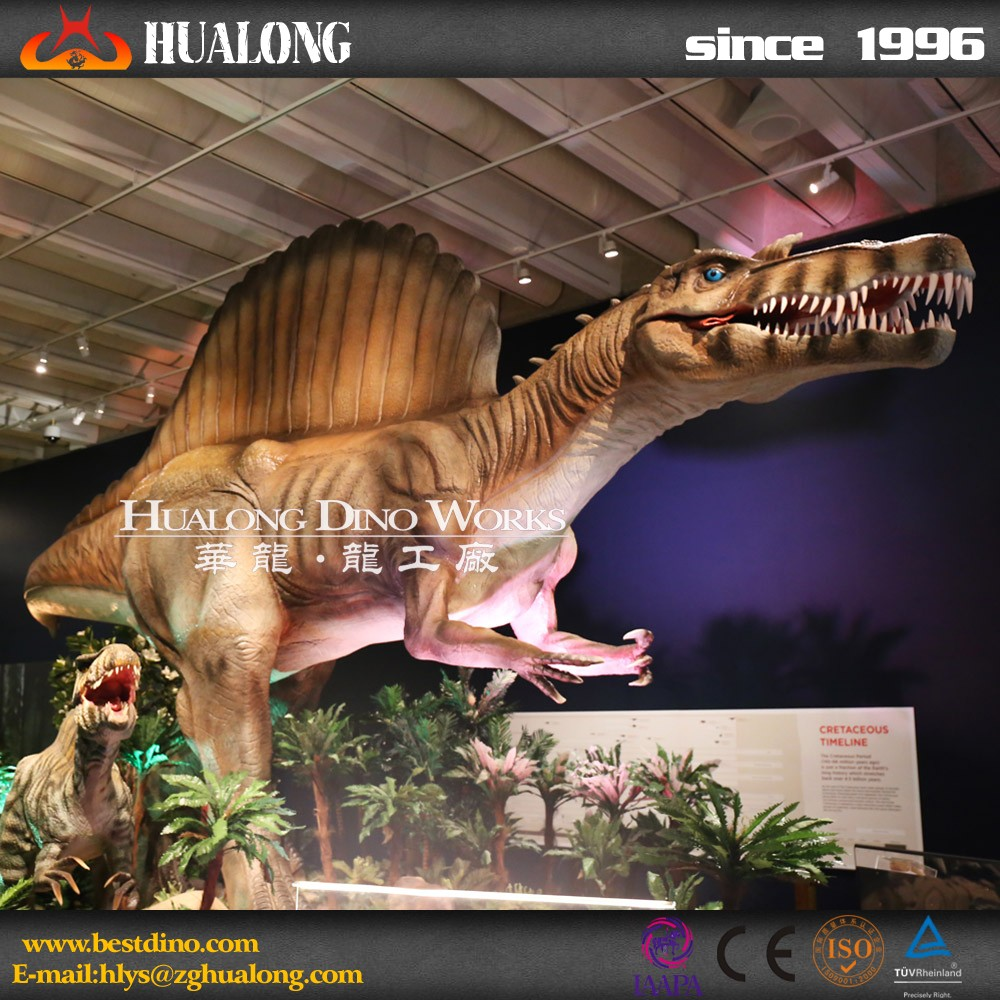 Theme park and museum equipment giant robot dinosaur model