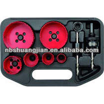 diamond concrete hole saw drill bit set