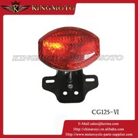 KINGMOTO 20150708 2015 Brand New Motorcycle Rear Lights Integrated Red LED Tail Lights for Motor PGO