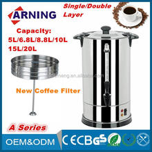 Single Layer Stainless Steel Electric Coffee Urn 220-240V (ENC-200S)