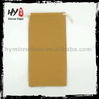 Hot selling special pen velvet pouch, eyeglasses velvet pouch, wholesale velvet drawstring bag