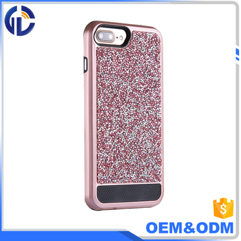 new arrival smart phone case crystal diamond case cover for iphone 7