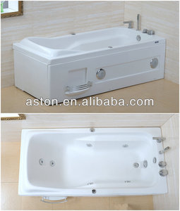 USacrylic plastic adult bath tubs/304#SS faucets/Balboa massage tubs/sex bath in tubs