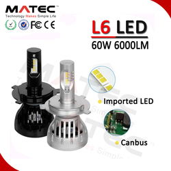 LED Accessories Motorcycle and Car LED Kit Canbus Spot Beam H4 9005 LED Headlight Bulbs 60w