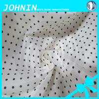 fabric textile supplier woven 100 polyester printed satin lining fabric for bags