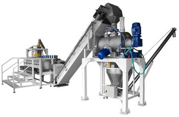 Line for the preparation and packaging mixtures BLEND LINE