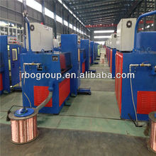 14D(0.25-0.6) Copper fine wire drawing machine cable making equipment