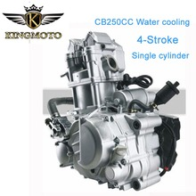 Motorcycle parts motorcycle engines CB250 water-cooled 250cc water cooling 4-stroke single cylinder motorcycle engine assembly