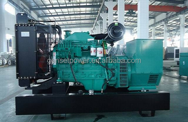 With Cummins Engine Diesel Power electricity generator 100kw