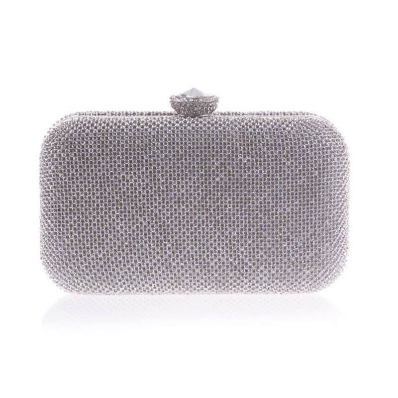 Get Quotations · Noble Both Side Diamond Evening Bags Women Luxury Crystal  Clutch Handbag Top Quality Assurance Bling Party a185c3d480fb