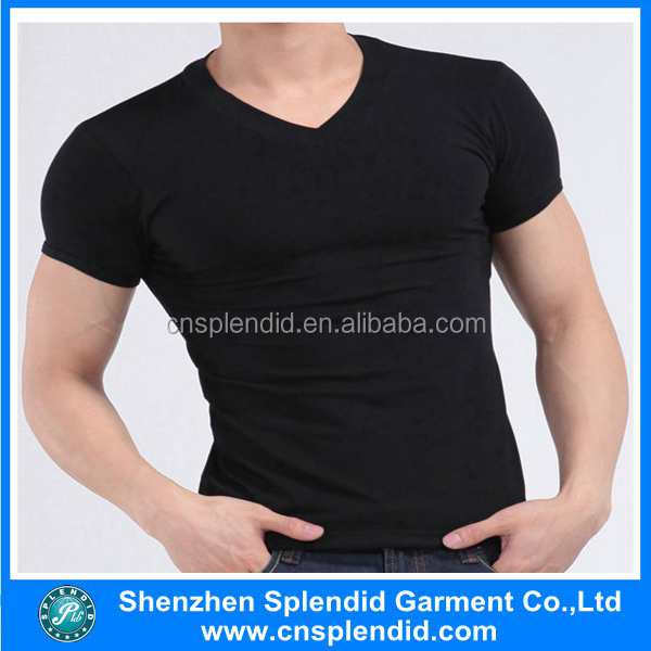 clothing manufacturer factory price vintage washed black blank t shirts