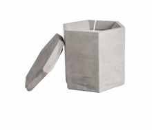 Cement /candle holder wholesale ((CW-105-DS)