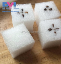 China Factory Sale Vegetable Sprout Hydroponics Growing Sponge& Melamine foam