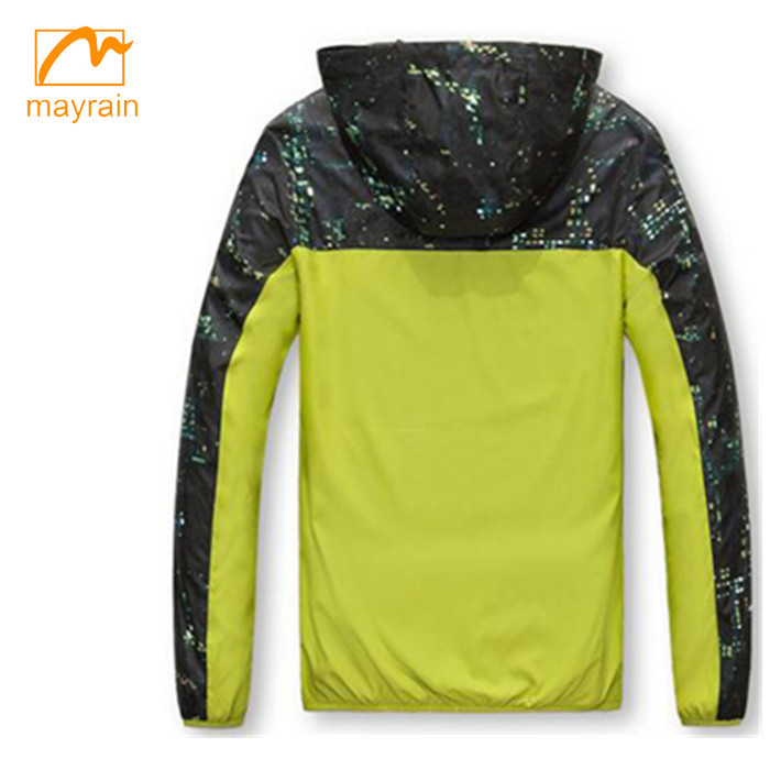 2017 latest design women rain jacket