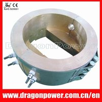 Plastic processing cast bronze/brass/copper heater