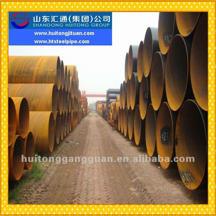 China New Production ERW SSAW Low Carbon Spiral Welded Steel Pipe Pile In Low Price Per Ton