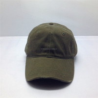 short brim stone 100% cotton washed worn-out baseball cap without logo