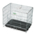 zinc portable outdoor wire mesh dog kennel