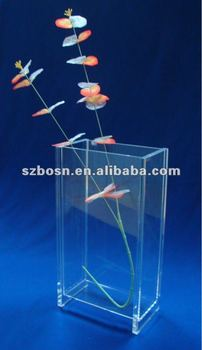 Transparent Acrylic Flower Stand,Acrlyic Flower Vase Stand,Acrylic Flower Holder