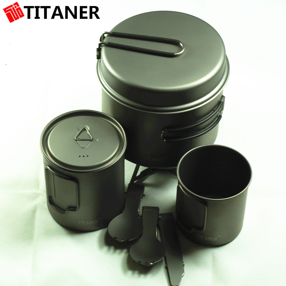 Titan ultra strong pan sets kitchen accessories camping for Kitchen accessories sets