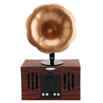 Wholesale Classical BT <strong>Speaker</strong> With Stereo Perfect Sound, Horn Wireless <strong>Speaker</strong> With USB Charger and FM Radio Function
