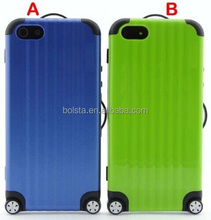 2014 hot sales protective case luggage for iphone 4s 5 5s