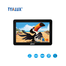 55 inch network free standing tablet for advertising