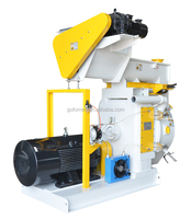 Ring Die Wood Pellet Mill with Moisture Conditioner