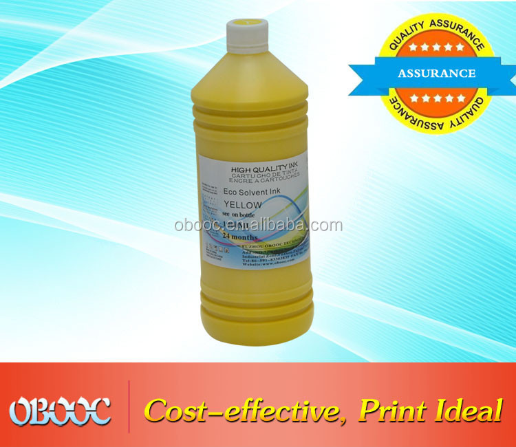 1000ml High Quality ECO Solvent Ink For Banner DX5 Print Head
