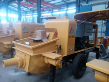 trailer-mounted ready mix big portable concrete pump,pump concrete machine ,big concrete pump