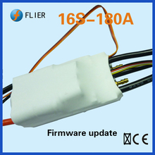 New version 12S/16S/18S/20S/22S 180A Waterproof RC racing brushless marine ESC with programming box