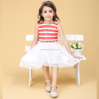 Latest Fashion Fancy Baby Girls Summer Frock Designs for Birthday Dresses